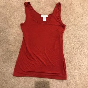 Tops - Soft Rust Red Tank Top